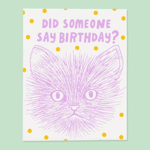 Say Bday Card