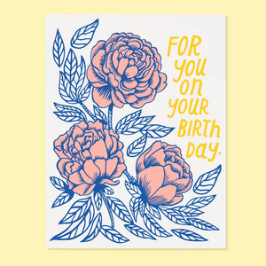 Bday Rose Card
