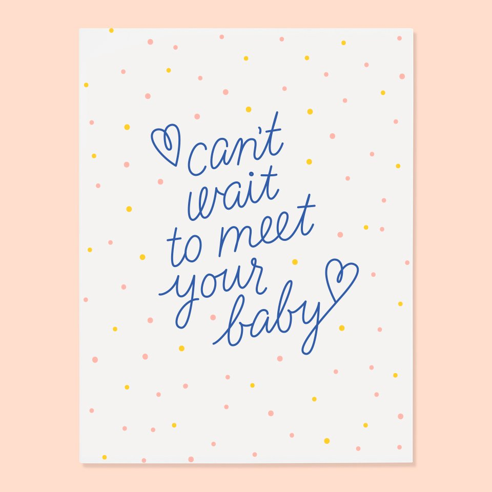 Meet Your Baby Card