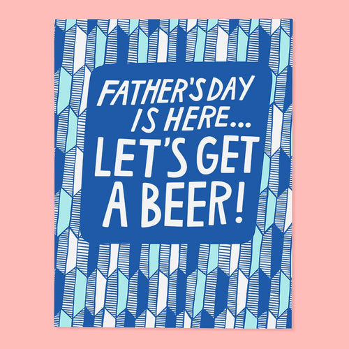 Father's Day Beer Card