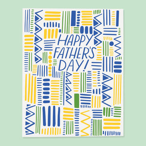 Dad Pattern Card