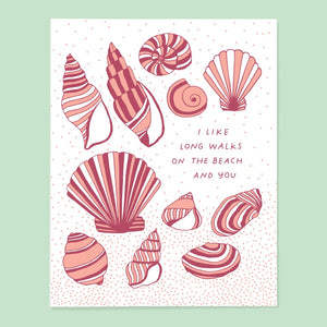 Walks on the Beach Card