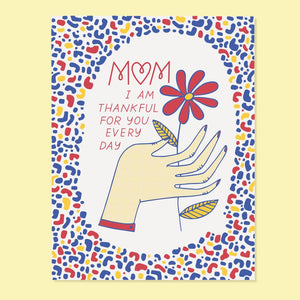 Thankful for Mom Card