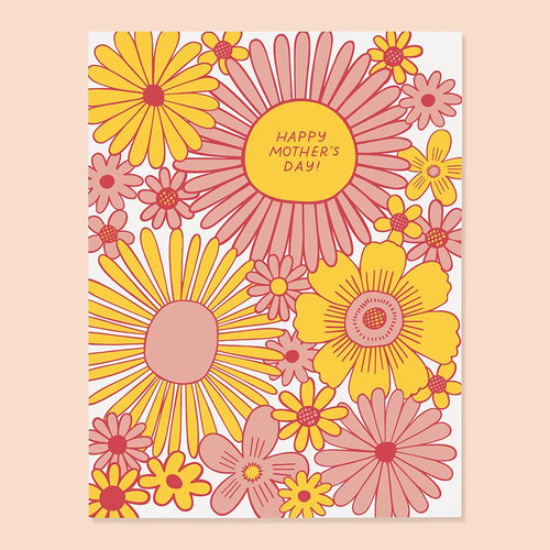 Daisy Mother's Day Card