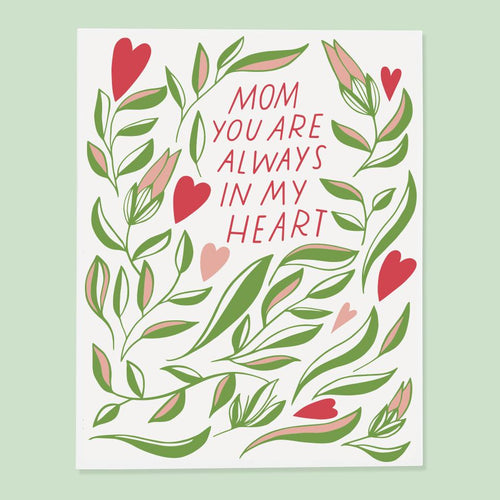 Mom Heart Card