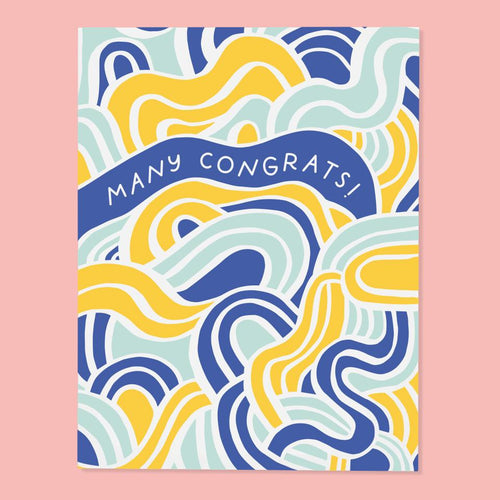 Many Congrats Card