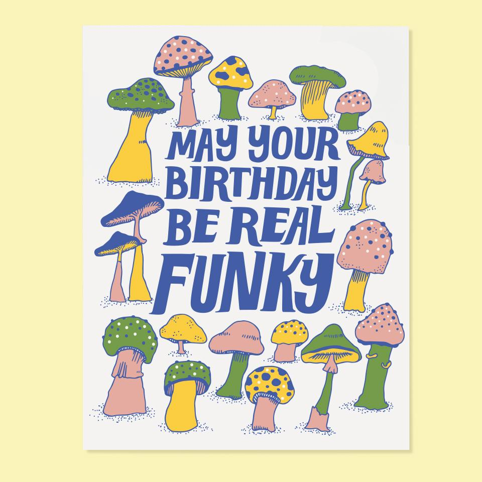 Funky Birthday Card