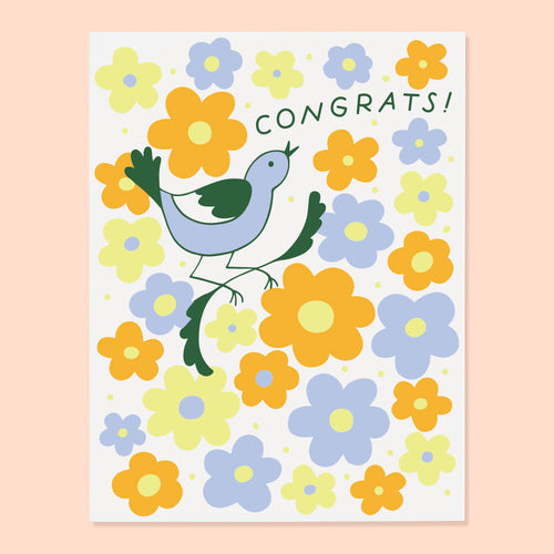 Bird Congrats Card