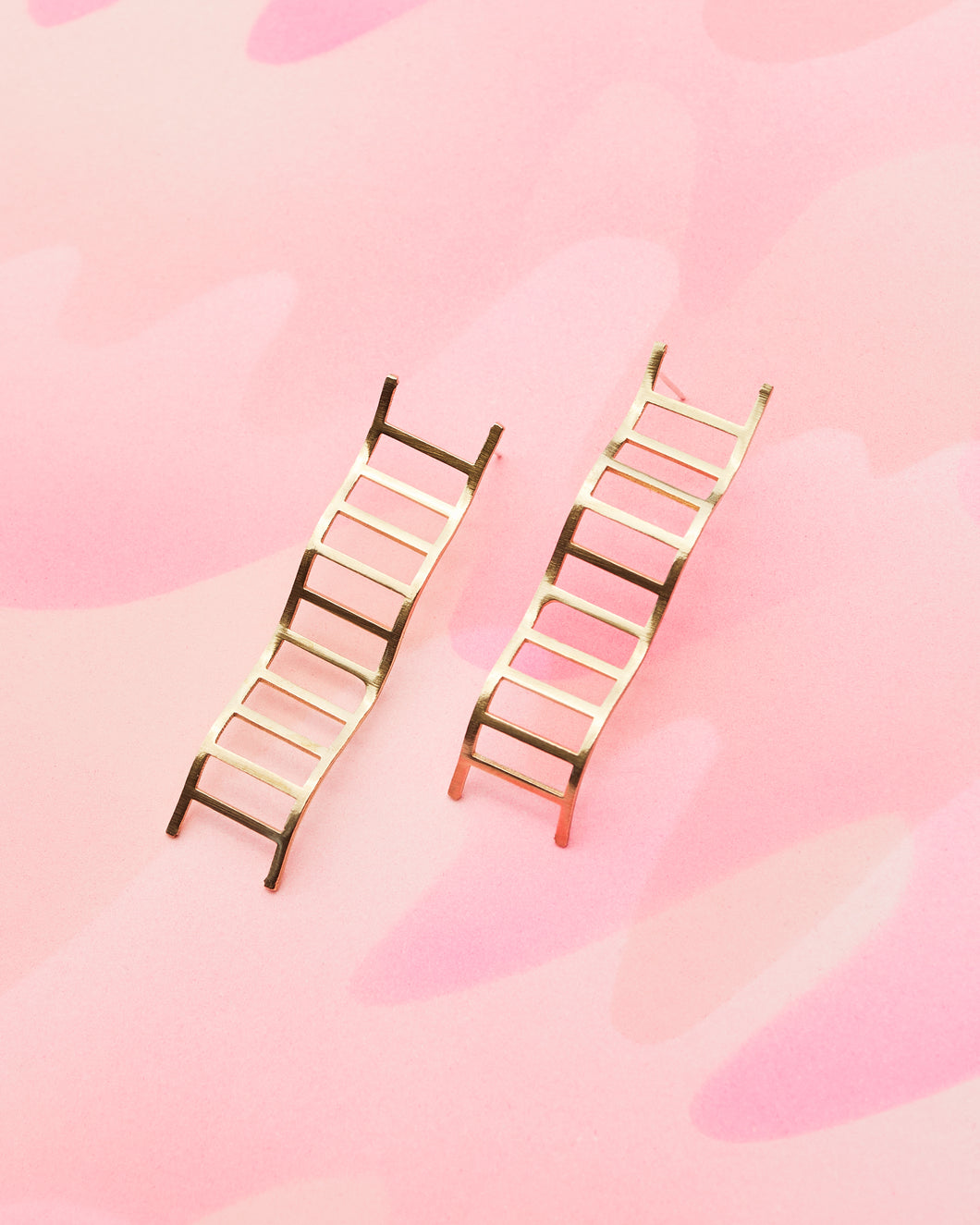 Wavy Ladder Earrings