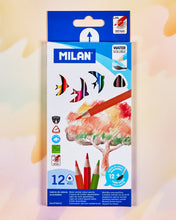 Milan Water-Soluble Colored Pencil Set of 12