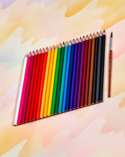 Milan Water-Soluble Colored Pencil Set of 24
