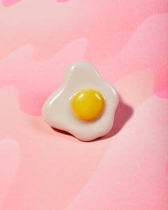Porcelain Egg Pin