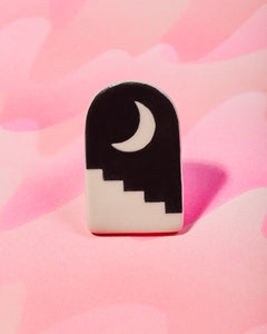 Porcelain Arch Pin