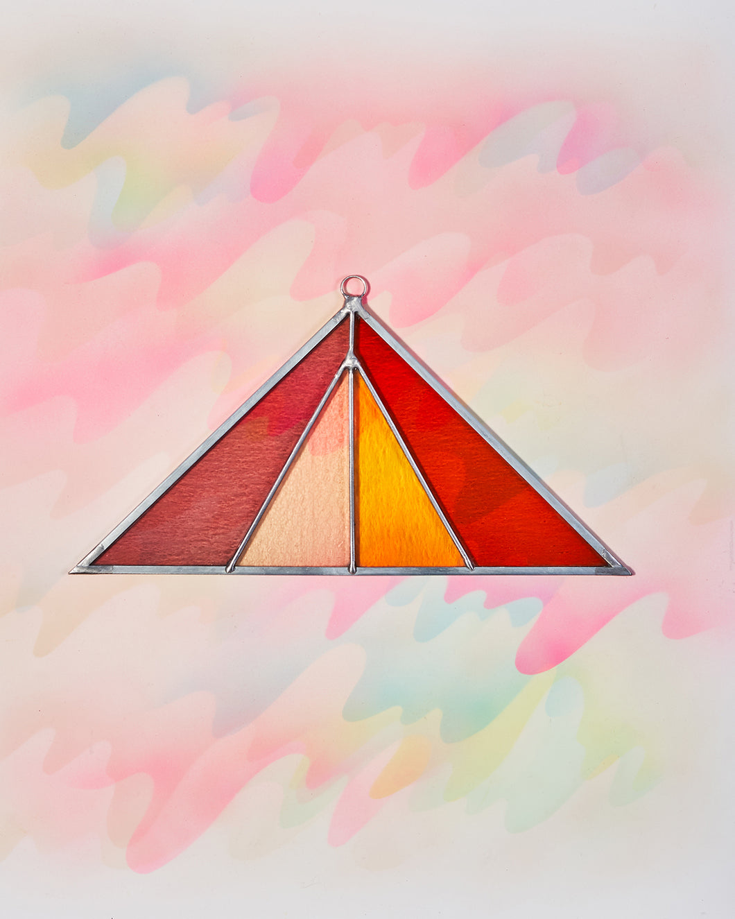 Triangle Suncatcher - Summer