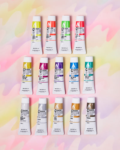 20 ml Holbein Acryla Gouache - Metallic and Luminous