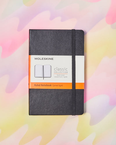 Moleskine Classic Ruled Notebook - 3.5x5.5