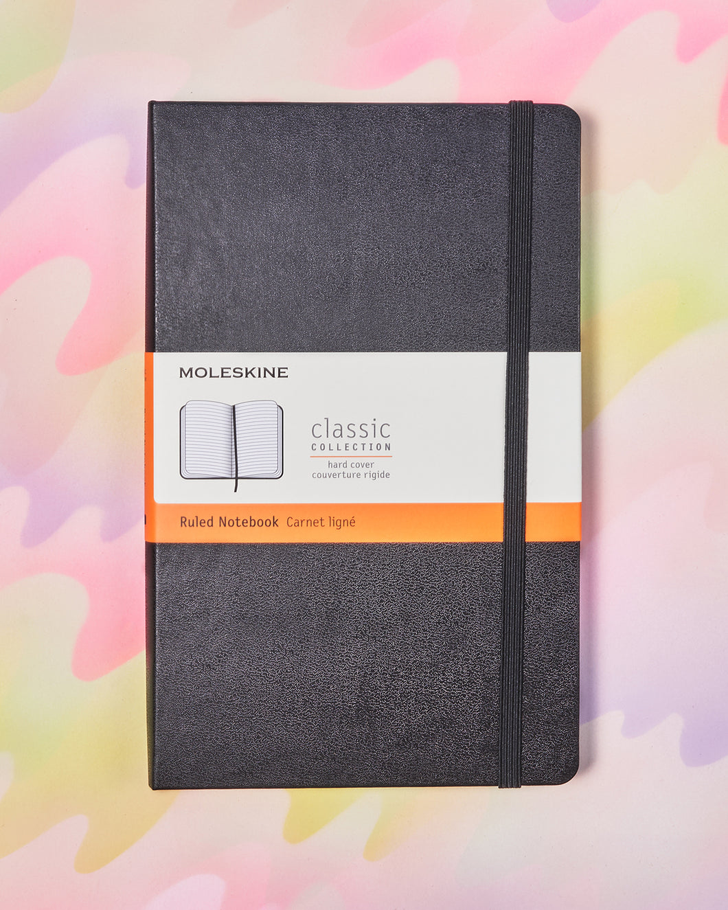 Moleskine Classic Ruled Notebook - 5x8.25