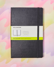 Moleskine Classic Plain Notebook - 5x8.25