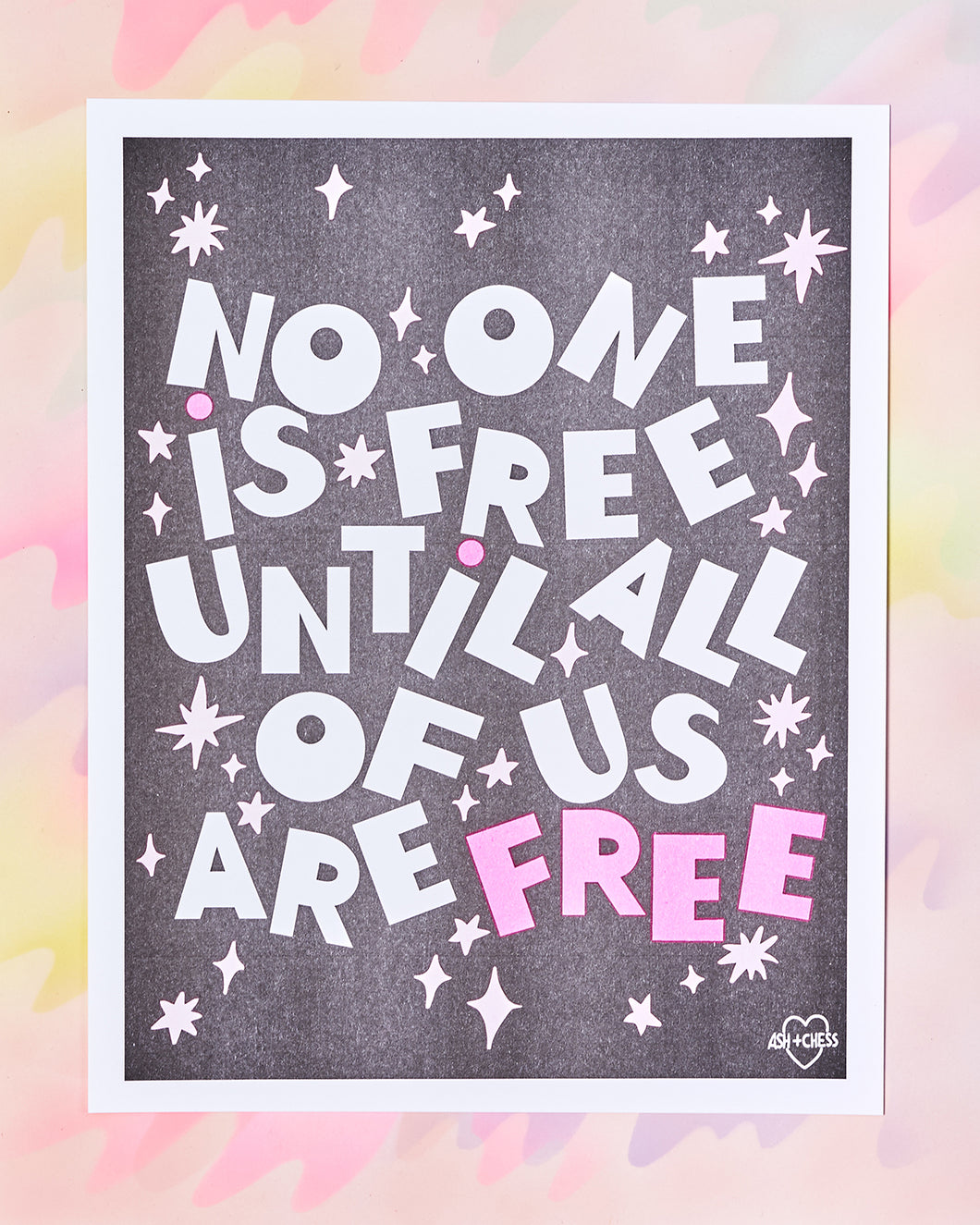 No One is Free Print