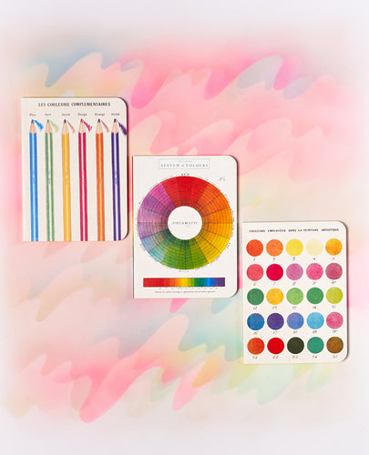 Cavallini & Co Mini Notebook Set of 3 - Color Wheel