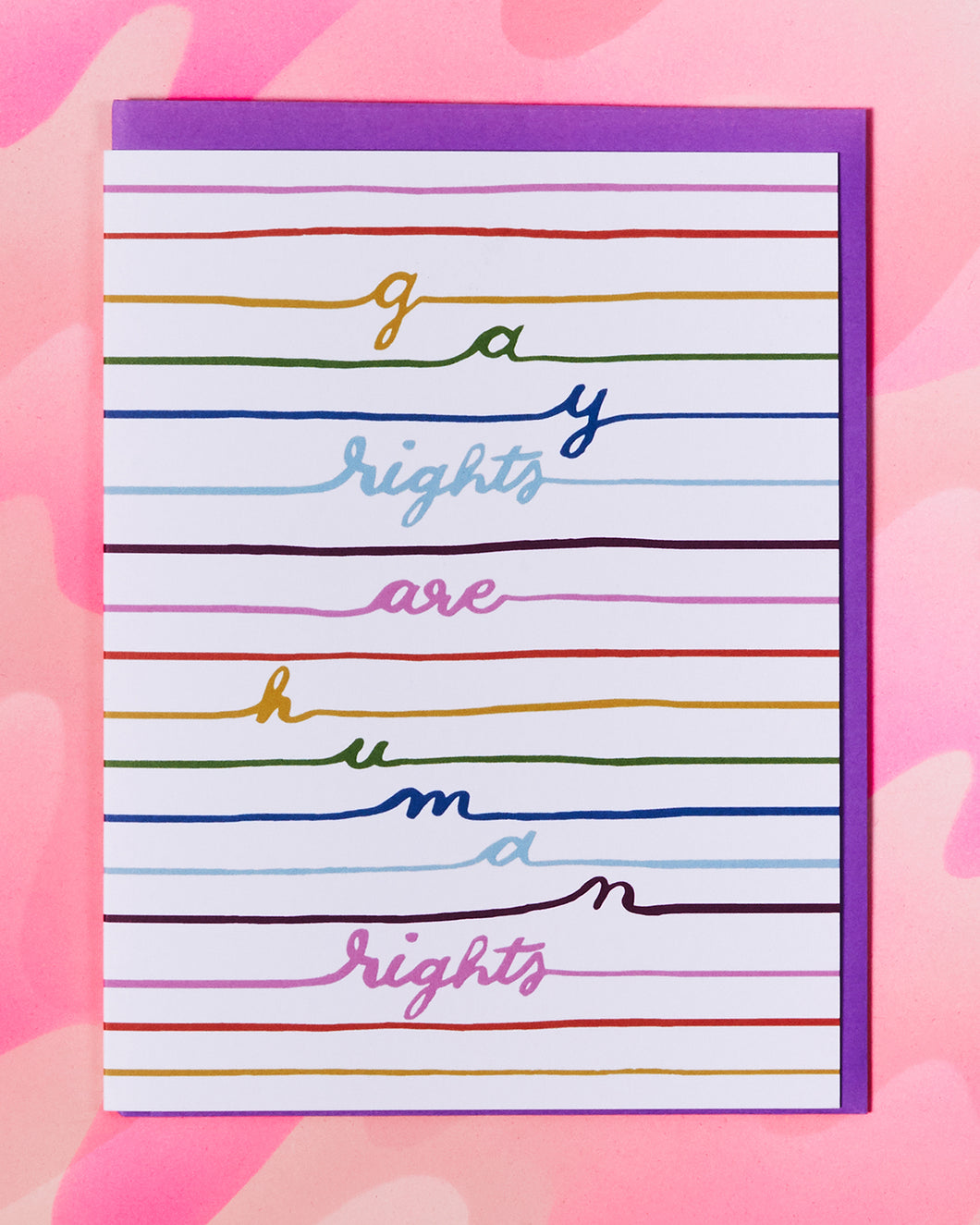Gay Rights Card