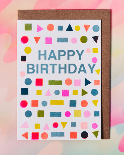 Happy Birthday Mix Card
