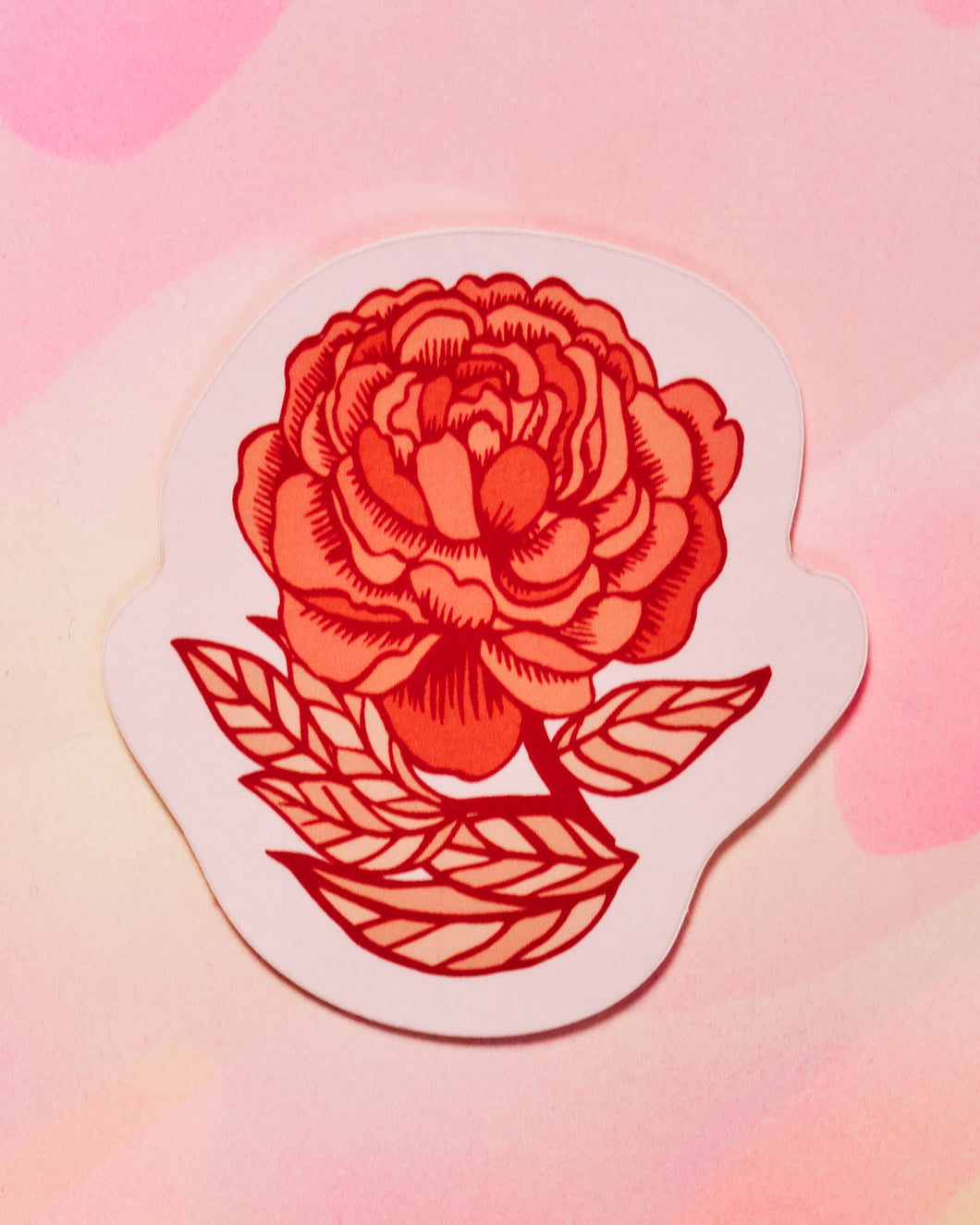 Rose Single Sticker
