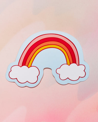 Cloud Rainbow Single Sticker
