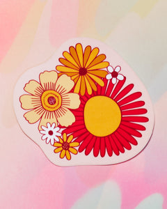 Flower Power Single Sticker