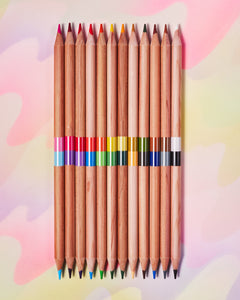 Ooly 2 of a Kind Colored Pencil Set of 24