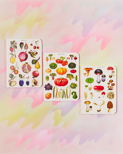 Cavallini & Co Mini Notebook Set of 3 - Jardin