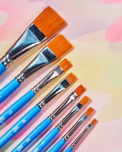Princeton Select Flat Brushes