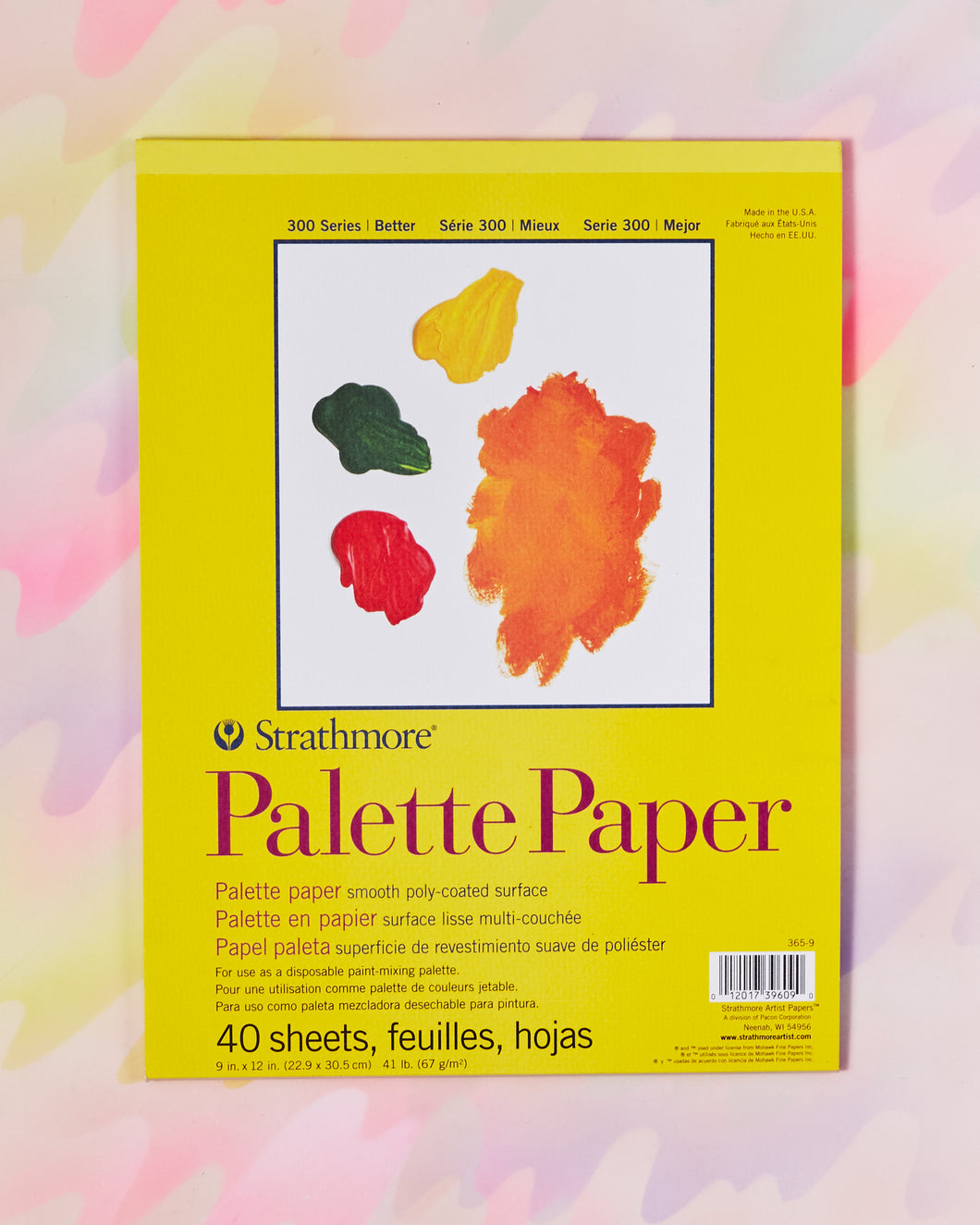 Strathmore Paper Palette Pad - 9x12