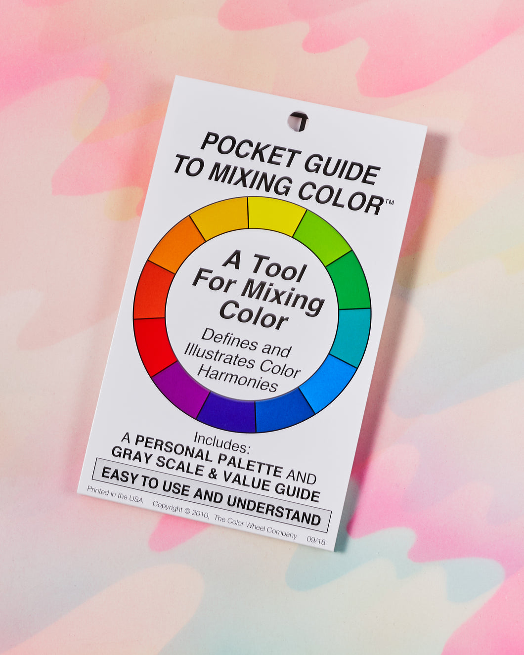 Color Wheel Pocket Mixing Guide