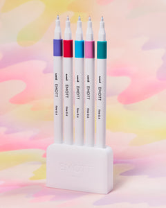 EMOTT 0.4MM Fineliner Pen Set of 5 - #5