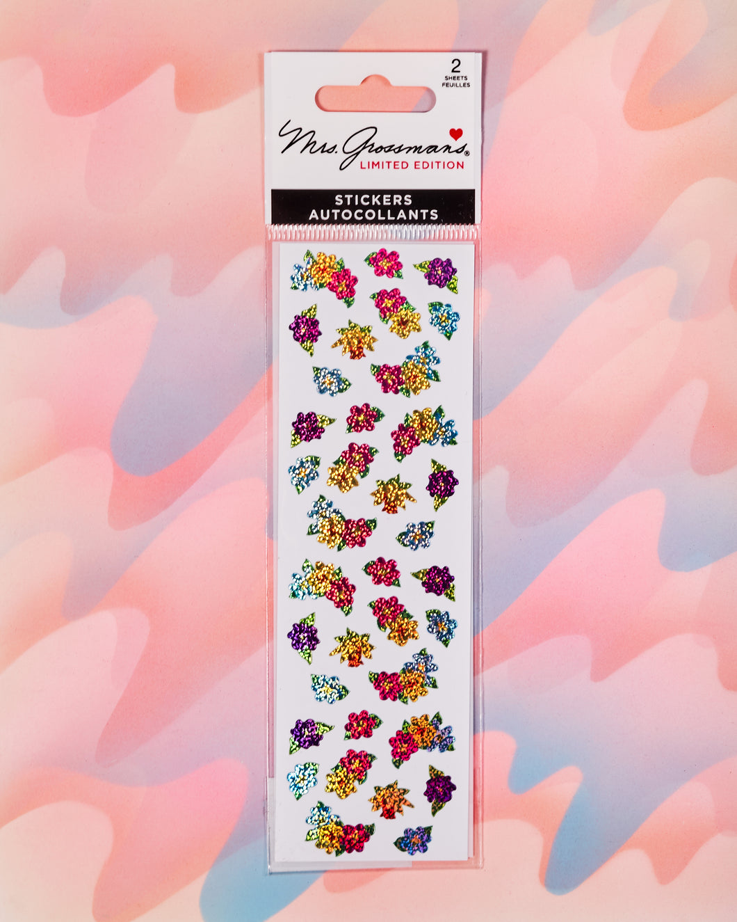 Flower Bunches Stickers