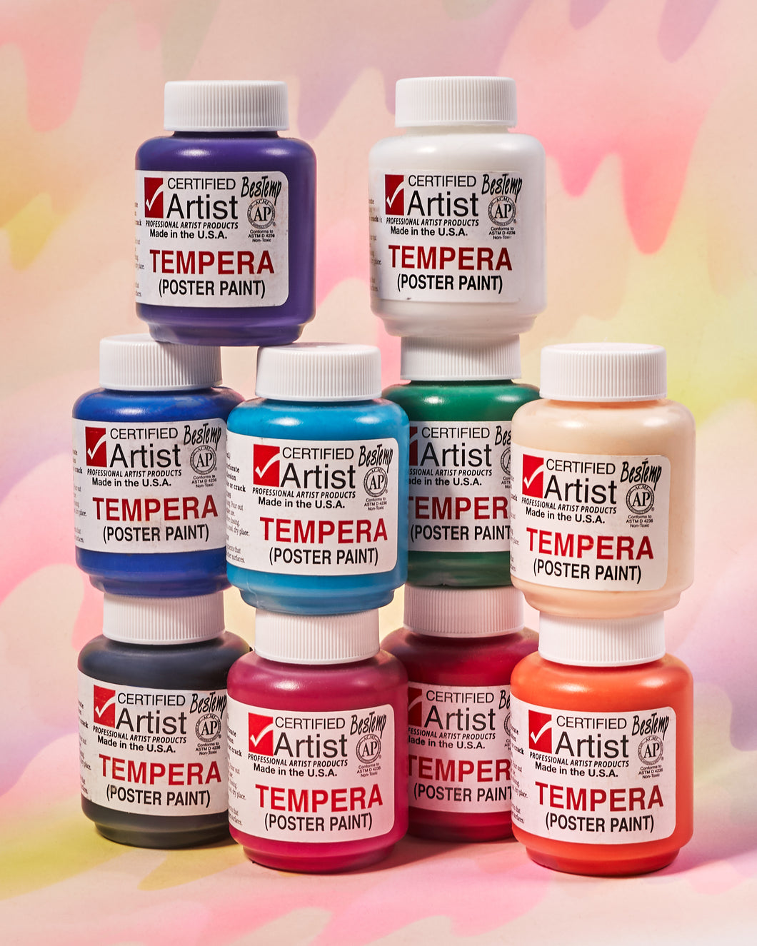 BesTemp Tempera Paint - 2 oz