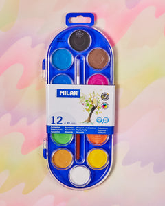 Milan Watercolor Set of 12