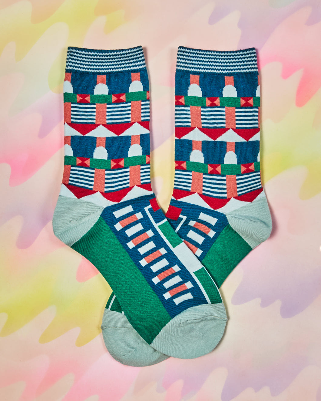 Grand Hotel Peacock Socks