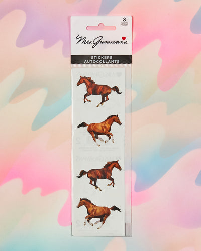 Galloping Horse Stickers