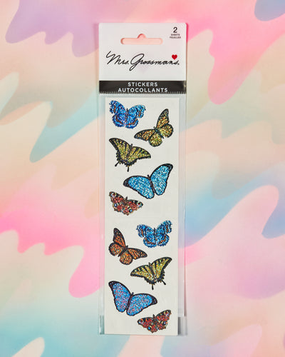 Sparkle Butterflies Stickers
