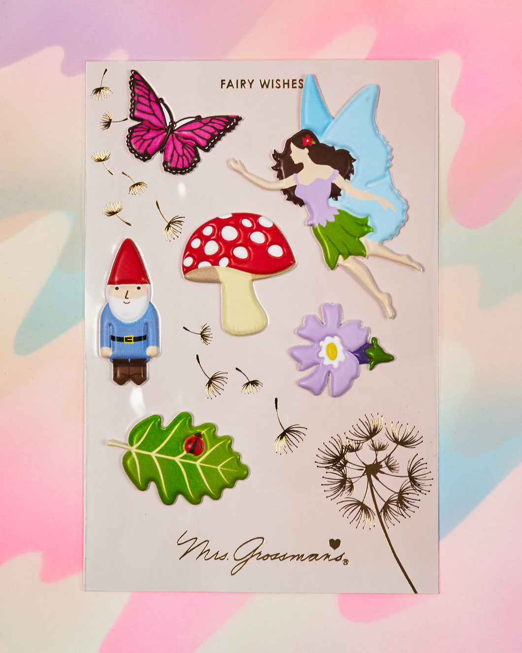 Fairy Wishes Puffies Stickers