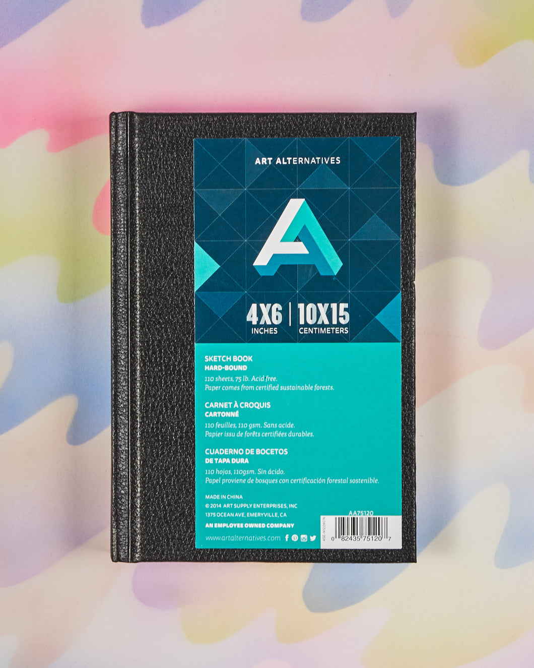Art Alternatives Hardbound Sketchbook - 4x6