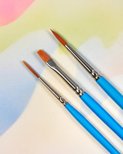 Princeton Brush Set #3 - 3 Pieces