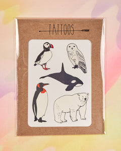Arctic Temporary Tattoos