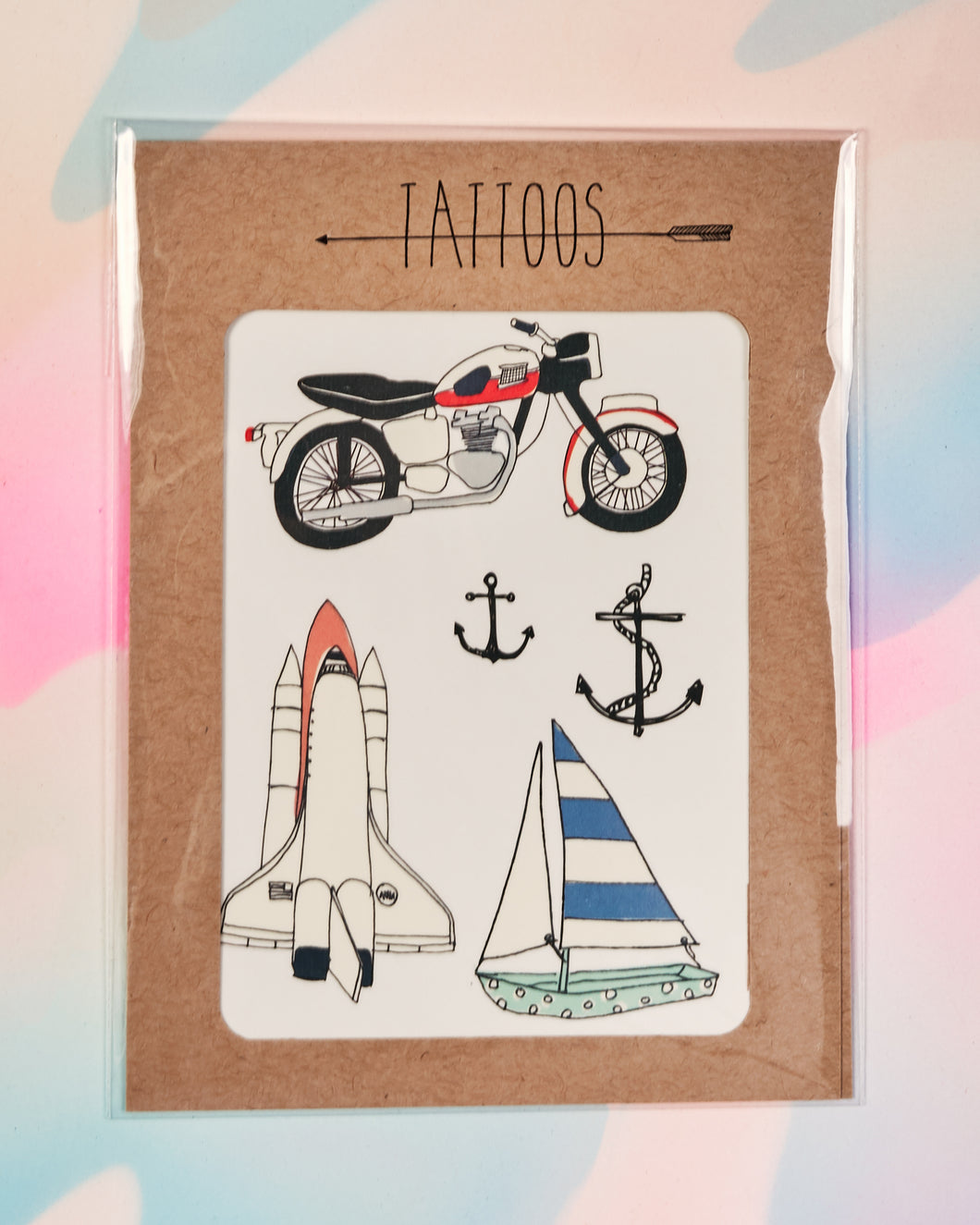 Sweet Rides Temporary Tattoos