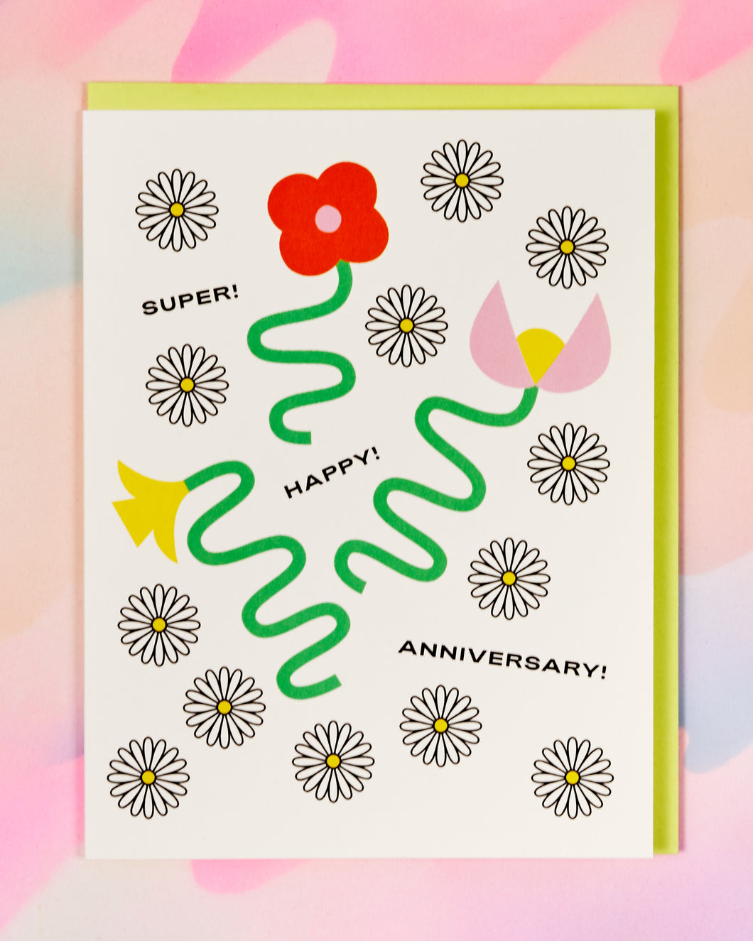 Super! Happy! Anniversary Card