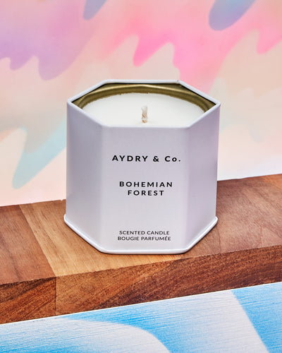 Bohemian Forest Candle