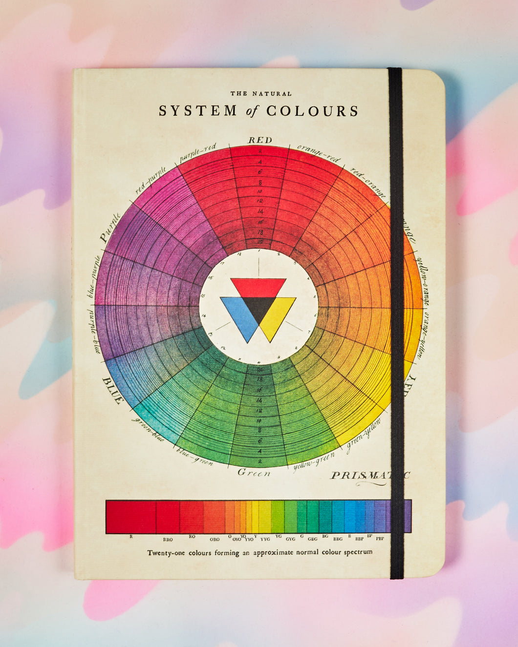 Cavallini & Co 6x8 Color Wheel Notebook