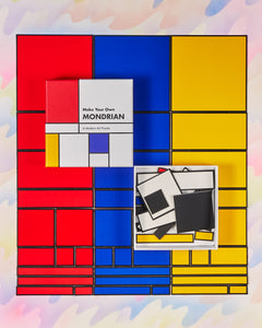Make Your Own Mondrian Art Puzzle